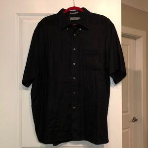 100% Linen Short Sleeve Buttondown